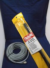 TRAM BROWNING 1499 MINI CB BASE STATION ANTENNA, 50FT DS RG8X COAX CABLE