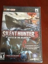 Silent Hunter 5 Battle For The Atlantic for PC BRAND NEW SEALED Awesome submarin