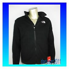 The North Face Men's Full Zip Tundra Size Small  Black 300 Thick Fleece Jacket