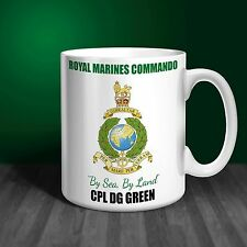 The Royal Marines Commando Personalised Ceramic Mug Gift