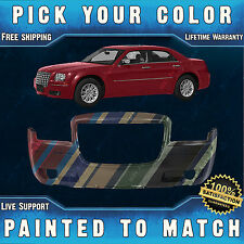 NEW Painted To Match - Front Bumper Cover for 2005-2010 Chrysler 300 w/ Fog 3.5L