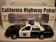 CALIFORNIA HIGHWAY PATROL TROOPER 1999 FORD POLICE CRUISER GEARBOX FIRST ISSUE