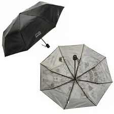 Star Wars - Millennium Falcon Technical Spec Compact Umbrella - New & Official