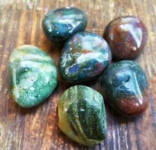 Bloodstone Polished Tumbled Stone ~ Crystal tumbles are perfect for a grid ~SH16