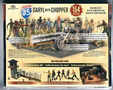 The Walking Dead TV Daryl Dixon with Chopper  McFarlane Toys Building Sets   NEW