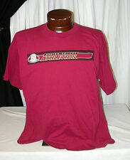 BOSTON COLLEGE EAGLES ATHLETICS T-SHIRT - MAROON - SIZE XL