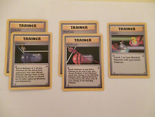 Pokemon Trainer - Defender(U) x2, Pluspower(U) x2,Switch(C) x1 Base (New)
