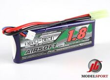 Nano-Tech 1800mah 2 CELLE Airsoft Lipo Battery Pack 7.4v 20 - 40 C