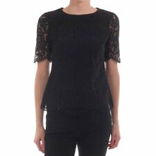 Ted Baker Allina Lace Scallop Edge Top Blouse ( Size 4-  US 12)