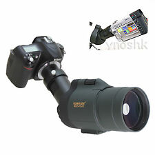 25-75x 1800mm 5500mm Telescope for Nikon D5000 D3x D90 D700 D60 D3 D300 Cameras