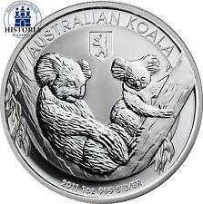 Australien 1 Dollar Silber 2011 Koala Serie: Koala mit Privy Mark Berliner Bär