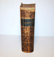 1842 Antique German Bible Printed in New York