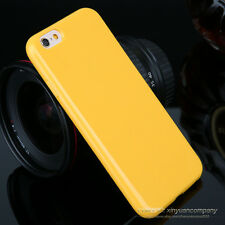 Slim Candy TPU Silicone Rubber Soft Back Case Cover For iPhone 5c SE 5 6s Plus