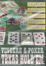 Dvd **VINCERE A POKER TEXAS HOLD'EM** nuovo