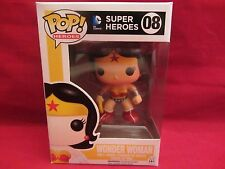 Funko Pop!  WONDER WOMAN  Super Heroes  #08  DC Comics  MIB  (E216HP)