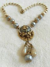 100% Authentic Stanley Hagler Vintage Pearl Necklace From The Family Collection
