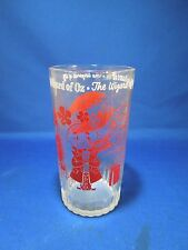 Vintage Swift and Co. Peanut Butter Wizard of Oz Glasses Tumbler Cup The Wizard