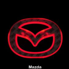 LED Car Tail Logo Red light Auto Badge Light for Mazda 2 Mazda 3