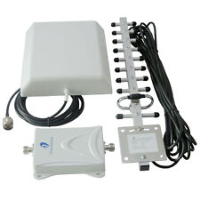 70dB GSM 1900MHz LTE Mobile Cellular Call Signal Booster 3G/4G Amplifier Kit