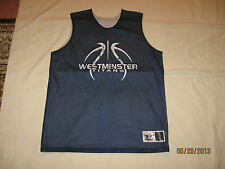 Westminster Titans Reversible Basketball Jersey Womens Large Girls NCAA RARE