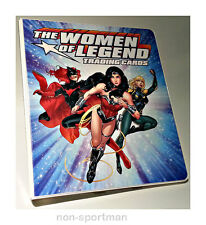 DC THE WOMEN OF LEGEND CRYPTOZOIC SUPER ULTIMATE MINI-MASTER SET WITH BINDER++