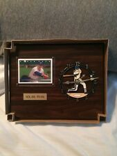 Nolan Ryan Texas Rangers Clock LIMITED EDITION Vintage Sports Plaque Ranger