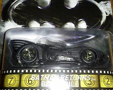 HOT WHEELS 2015 RETRO BATMAN RETURNS BATMOBILE