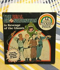 VTG 80s The Real Ghostbusters Revenge Of The Ghosts TV Show Mini Children's Book