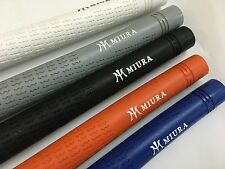 MIURA IRON GOLF RUBBER GRIP x 10 PIECES SUPERIOR TRACTION 5 COLORS TO CHOOSE