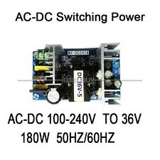 AC-DC Inverter 110V 220V To 36V 5A 180W Switching Power Adapter Converter Module