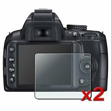 2-pack Crystal Clear Screen Protector for Nikon D-SLR D3100