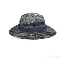Bucket Hat Military Camo Beanie Hat Casual Outdoor Hiking Fishing Cap Wide Brim