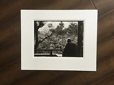 "BRUCE BLUM SIGNED B&W Photo Print (16""X 20"")-""Visitor to the Great Wall"""