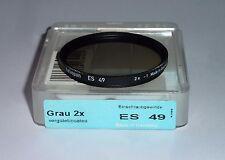 Heliopan  Graufilter 2x   49mm - auch für Leica