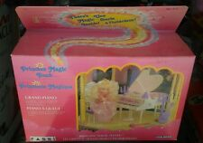 1987 PRINCESS MAGIC TOUCH Grand Piano Princesse Plush Magique Barbie Doll Figure