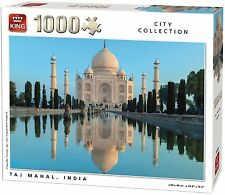 1000 Piece City Collection Jigsaw Puzzle - TAJ MAHAL YUMUNA RIVER INDIA 05384