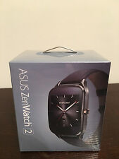 BRAND NEW! Asus Zenwatch 2 WI501Q Smartwatch for Android - Silver/Rubber