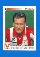 CALCIATORI PANINI 1997-98 Figurina-Sticker n. 363 - CANALS - VICENZA -New