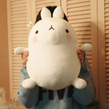 "Molang White 16"" Mini Plush Doll Cushion Toy Anime Home Decor Gift Cute Kawaii"