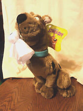 """Scooby Doo with Ghost in Mouth Plush 12"""" with Tag"""