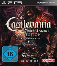 CASTLEVANIA LORDS OF SHADOW COLLECTION + MIRROR OF FATE CASTELLANO NUEVO PS3
