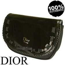 100% AUTHENTIC XMAS Edition DIOR ADDICT COUTURE BEAUTY~MAKEUP~TRAVEL BLACK BAG