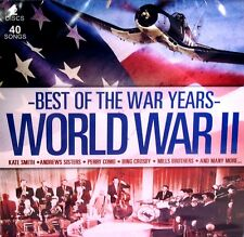 Best of the War Years World War II Music 2 CD Bing Crosby Kate Smith Perry Como