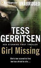 Girl Missing by Tess Gerritsen (2014, CD, Unabridged)