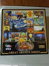 Jigsaw puzzle Renaissance Art Vincent Van Gogh 1000 piece NEW Made in USA