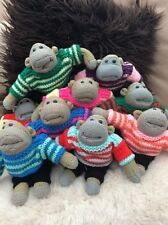 Hand knitted for pg tips monkey. (Jumper any colour)