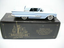 BROOKLIN MODELS BRK64 1959 FORD THUNDERBIRD HARDTOP COUPE  1/43 SCALE