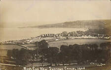 Swanage Camp 1908. Birds Eye View by E. Stevens, Camp Photographer, Poole.