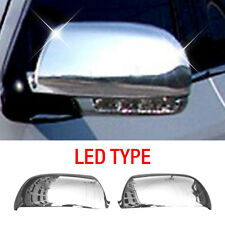 Chrome Side Mirror Cover Garnish Molding Trim for HYUNDAI 2006-2012 Santa Fe CM