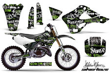 KAWASAKI KX 125/250 Graphic Kit AMR Racing Decal Sticker Part 99-02 SHG